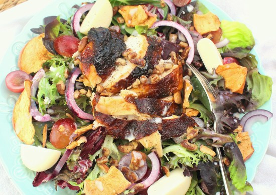 Fuji Apple Salad with Chicken