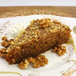 Greek Walnut Cake - Karodopita