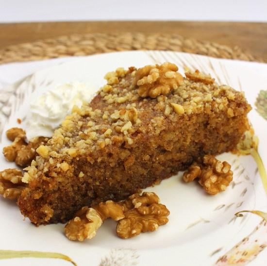 Greek Walnut Cake (Karidopita)