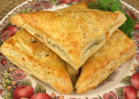 Mushroom and Swiss Turnovers