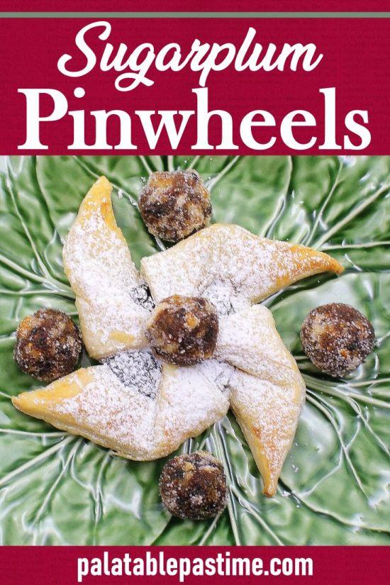 Sugarplum Pinwheels (Finnish Joulutorttu)