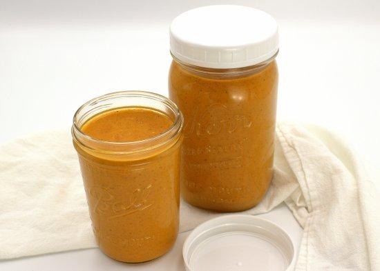 Salsa Casera Roja (Orange Taquera Sauce)