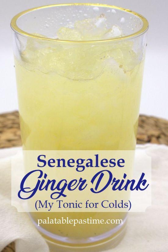 Easy Senegalese Ginger Drink