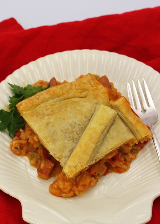 Jambalaya Pot Pie