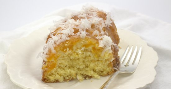 6-Ingredient Mango-Coconut Bundt Cake
