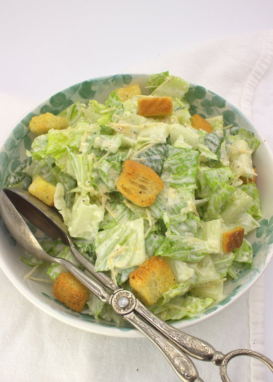 Quick and Simple Caesar Salad