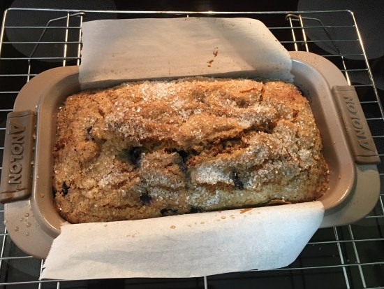 Quick bread in Pan