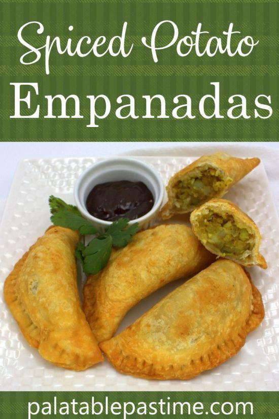Spiced Potato Empanadas