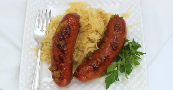 Glazed Knockwurst