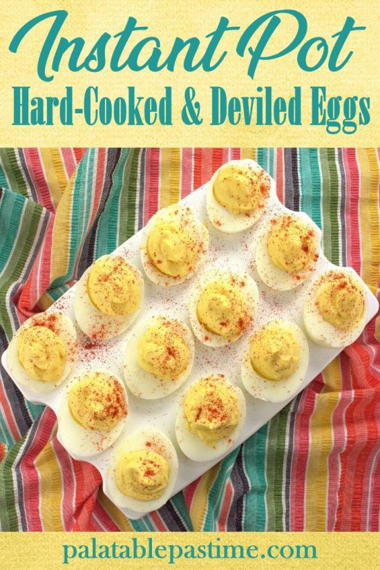 Instant Pot Deviled Eggs