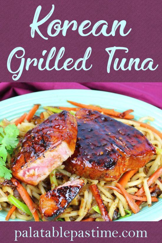 Korean Grilled Tuna