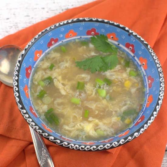 Ham and Sweet Corn Soup
