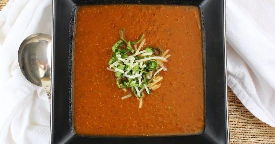 Fresh Tomato-Basil Soup