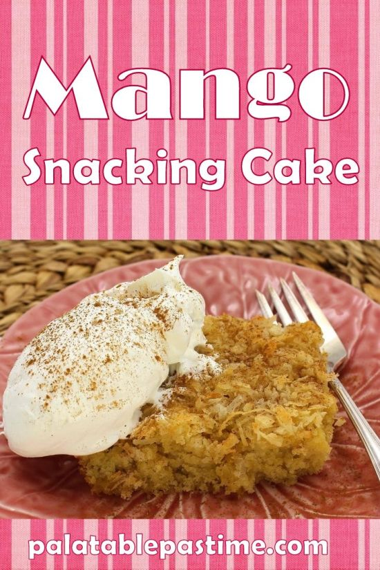 Mango Snacking Cake