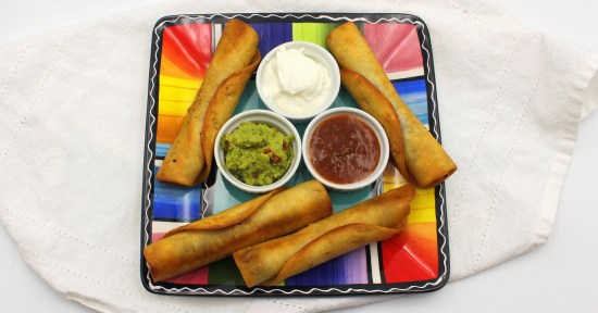 Black Bean Flautas