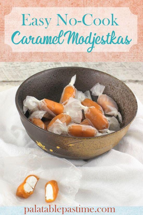 Easy Caramel Modjestkas