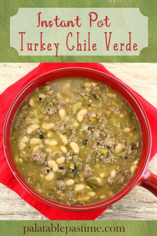 Turkey Chile Verde (Instant Pot)