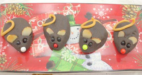 Christmas Mouse Shortbread