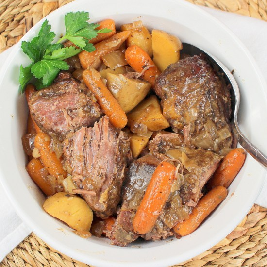 Slow Cooker Pot Roast