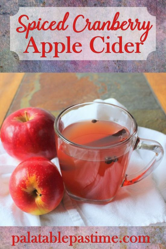 Spiced Cranberry Apple Cider