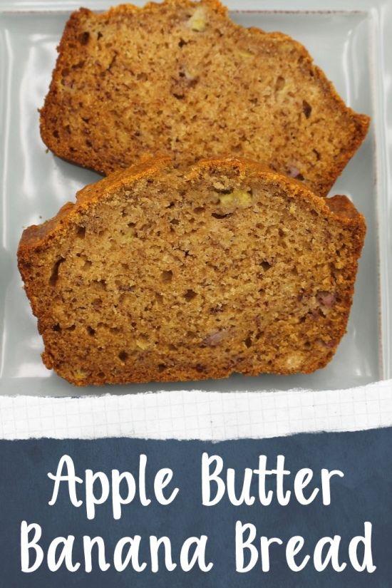 Apple Butter Banana Bread
