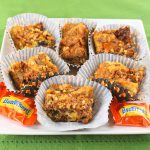 Butterfinger Crunch Cookie Bars