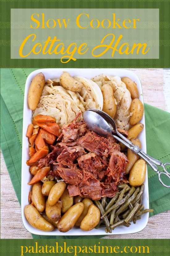 Slow Cooker Cottage Ham