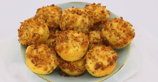 Onion Crunch Corn Muffins