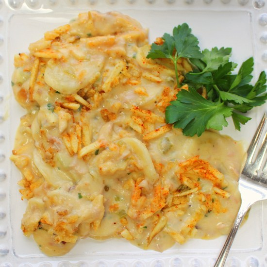 Scalloped Tuna Bake<