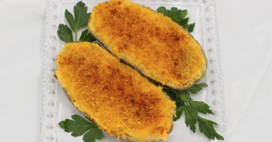 Twice-Baked Cornflake Potatoes