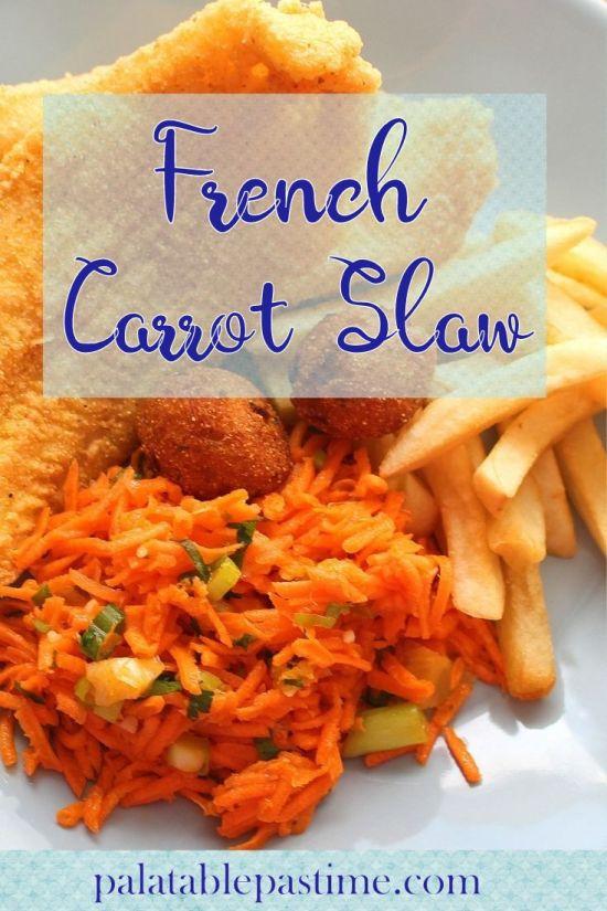 French Carrot Slaw