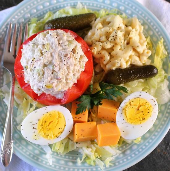 Tea Room Tuna Salad Plate