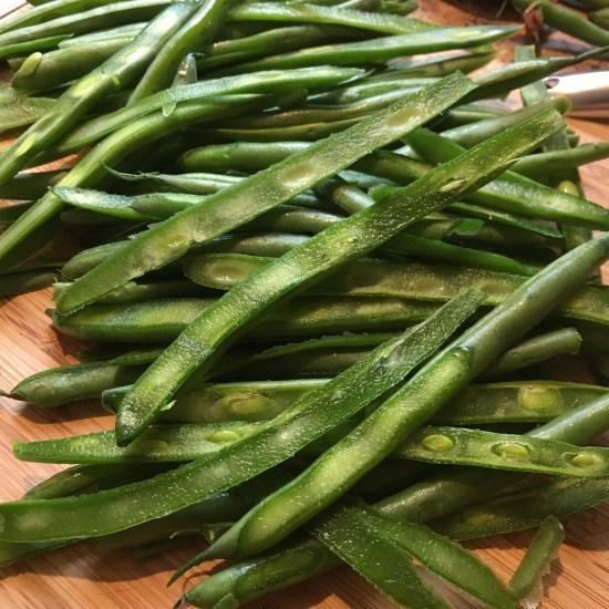French cut (shredded) green beans