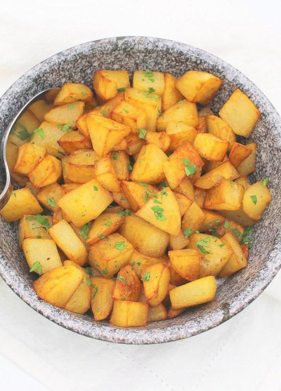 Salt and Vinegar Skillet Potatoes