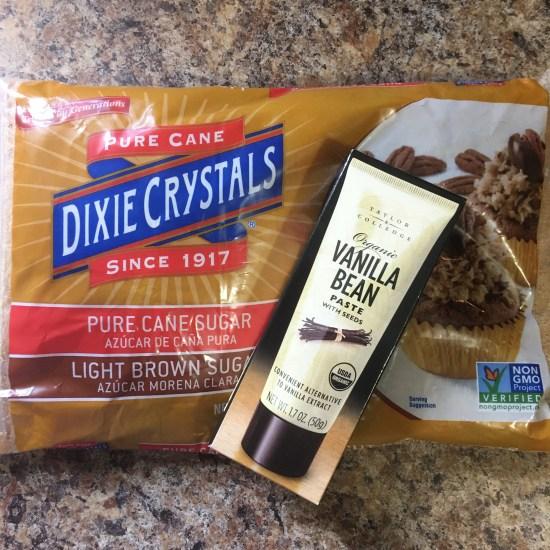 Brown Sugar and Vanilla Paste