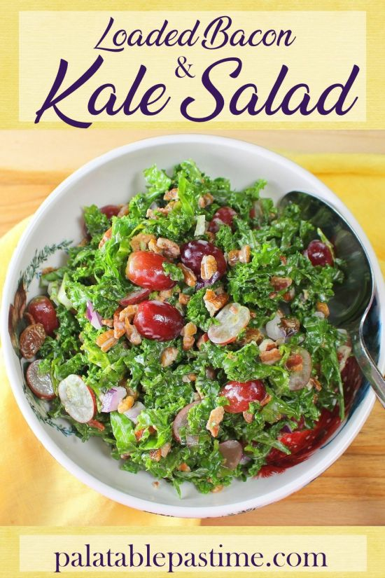 Loaded Bacon and Kale Salad