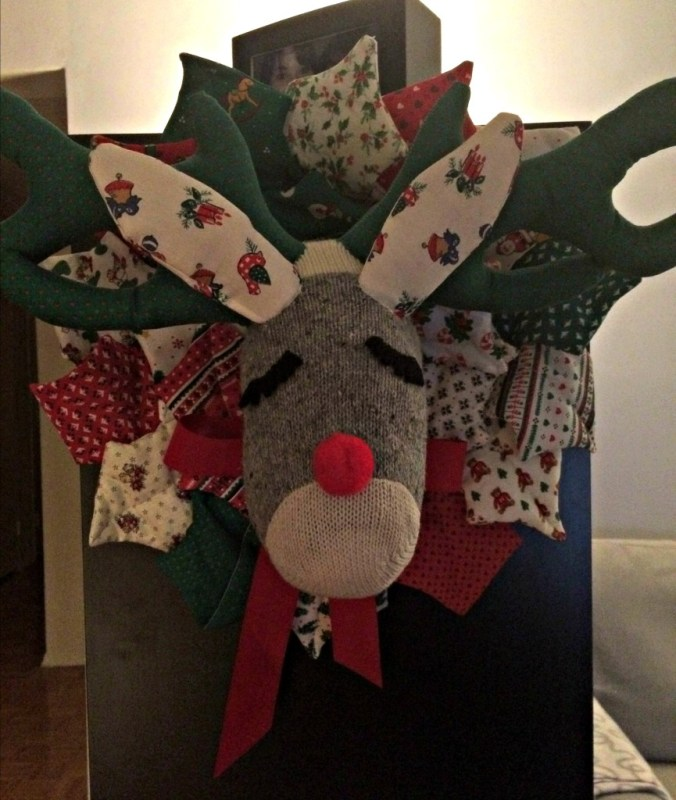 Have you met Bruce, the Christmas moose?