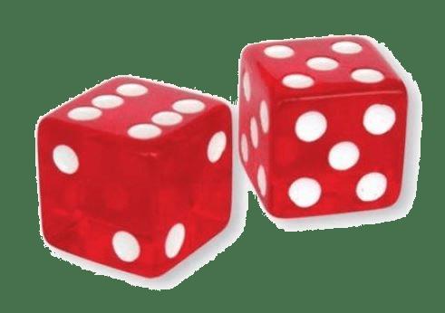 Bogus playing dice