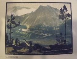 Carlos Sobrino, Monte entre piñeiros ca. 1925