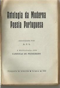 Antologia da Moderna Poesia Portuguesa 1941