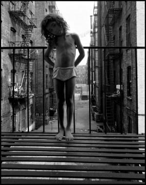 Davidson.East 100th Street, Harlem,1966