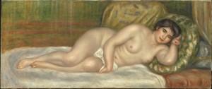 renoir-femme-nue-cauchee-gabrielle-1906
