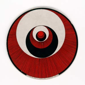 M. Duchamp. Rotorelief, 1935