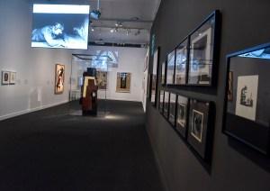 Sala da expo Arte e Cinema