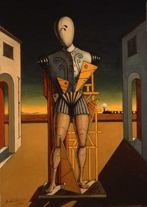 G. de Chirico. Il Trovatore, 1972