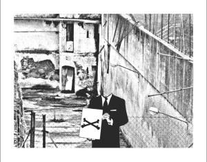 Desenho 3 de Alberto Esperante para a Teoria das ruínas de Alfredo Ferreiro