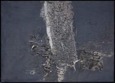 Canogar. Pintura nº 1, 1957