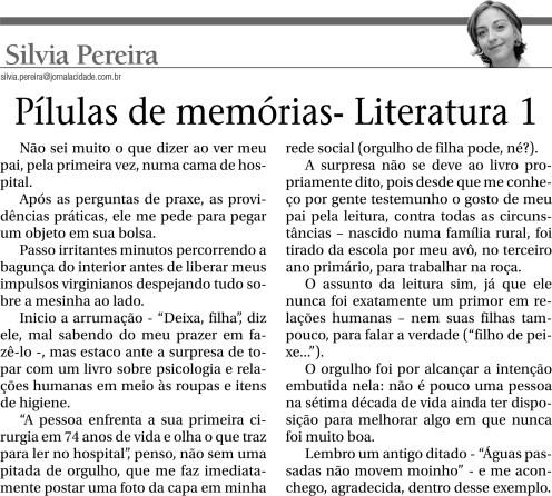 Pílulas de memória - Literatura 1 (1301)