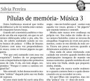 Pílulas de memória - Música 3 (0601)