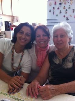 Eu, ela e mamãe